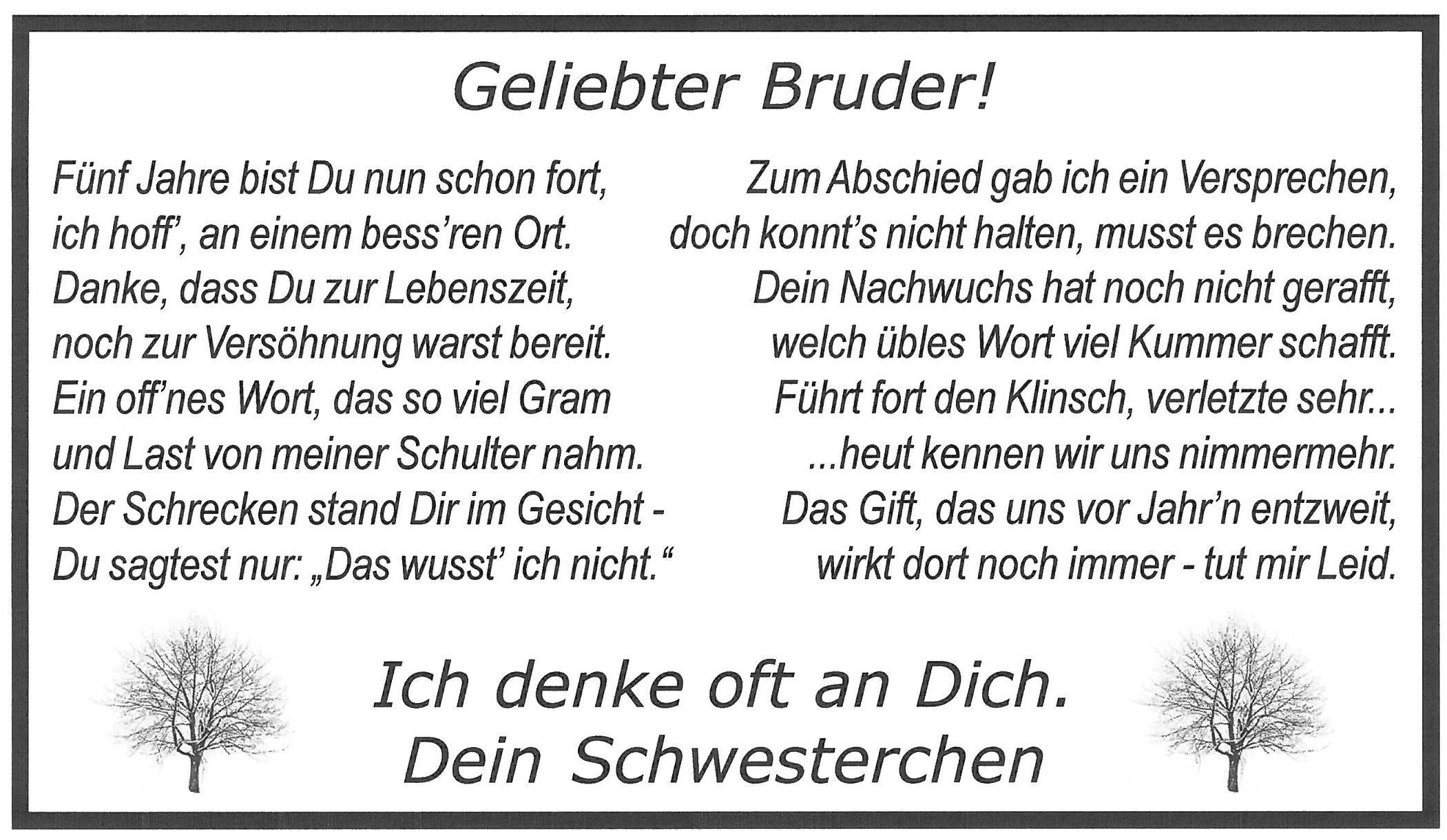 Benedictinosvenezuela Spruche Bruderherz